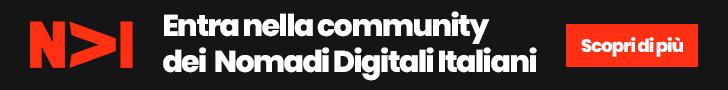 Entra nella Community dei Nomadi Digitali Italiani