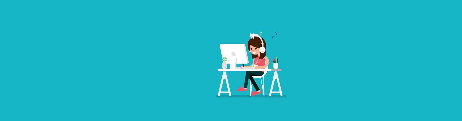 Un messaggio per un freelance dentro