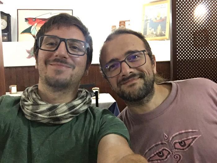 Io e Andrea Saccà a El Hierro