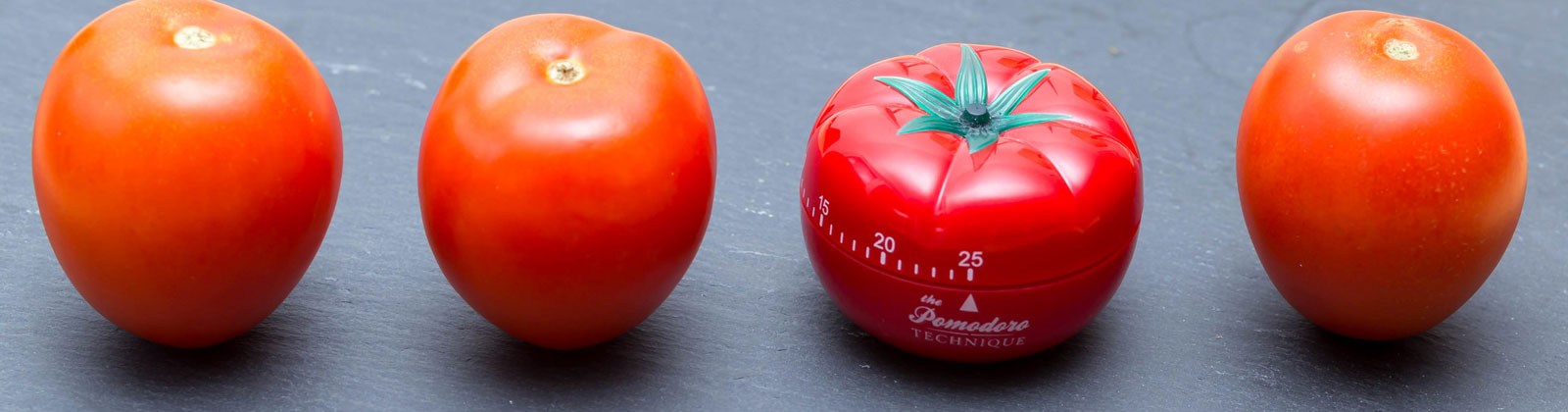 La tecnica del pomodoro. Immagine tratta da http://foto.wuestenigel.com/the-pomodoro-technique-effective-time-management-method/